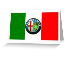 Alfa Romeo Logo Greeting Card
