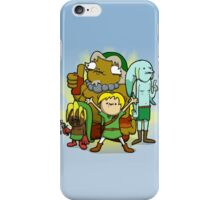 The kid behind the masks iPhone Case/Skin