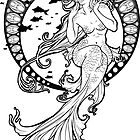 Mucha Mermaid by BrinyTails