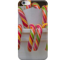 candy canes iPhone Case/Skin