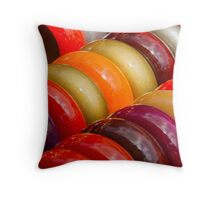 colorful bracelets Throw Pillow