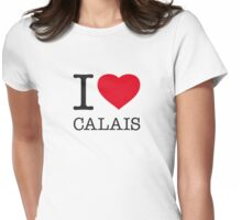 I ♥ CALAIS Womens Fitted T-Shirt