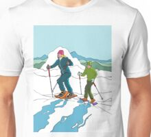 Snow-shoeing Unisex T-Shirt