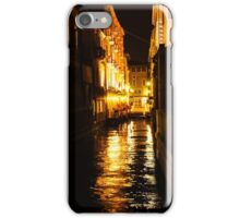 Golden Glow - Venice, Italy at Night iPhone Case/Skin