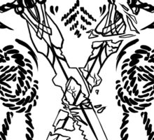 Sten companion tattoo Sticker