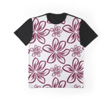 Floral abstract ornament graphic Graphic T-Shirt