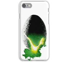 Alien poster - No text iPhone Case/Skin