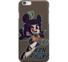 KEN ASHCORP iPhone Case/Skin