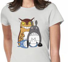 Totoroshka Womens Fitted T-Shirt