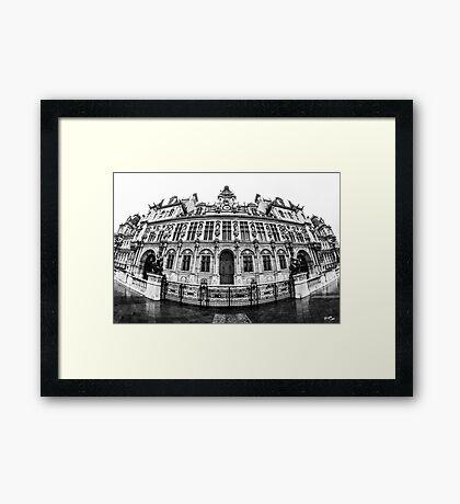 Hôtel de Ville Framed Print