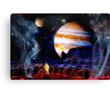 Lost Geysers of Europa Canvas Print