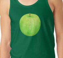 Green Apple ~ Watercolor painting & pattern Tank Top