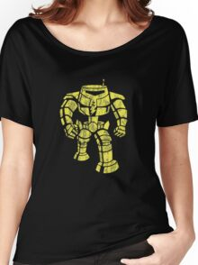 Manbot - Distressed Variant Women's Relaxed Fit T-Shirt