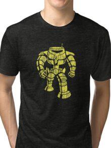 Manbot - Distressed Variant Tri-blend T-Shirt