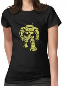 Manbot - Distressed Variant Womens Fitted T-Shirt