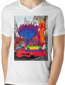 Cinquecento Mens V-Neck T-Shirt