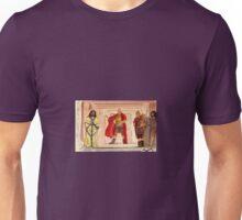 Barabbas, Pilate and Jesus Unisex T-Shirt