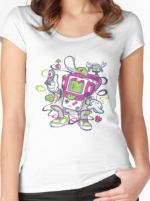 Game Boy - Old School Women's Fitted Scoop T-Shirt