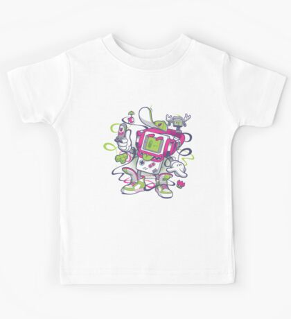 Game Boy - Old School Kids Tee