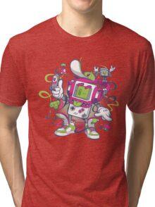 Game Boy - Old School Tri-blend T-Shirt