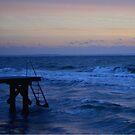 Sun-up jetty by Marlene  Klausen
