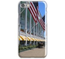 Grand Hotel with Taxi iPhone Case/Skin