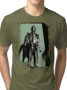 Cyberman (distressed) Tri-blend T-Shirt