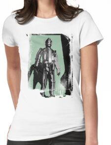 Cyberman (distressed) Womens Fitted T-Shirt