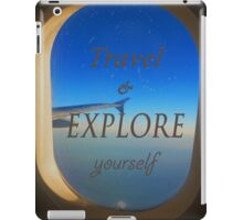 Travel & Explore Yourself iPad Case/Skin