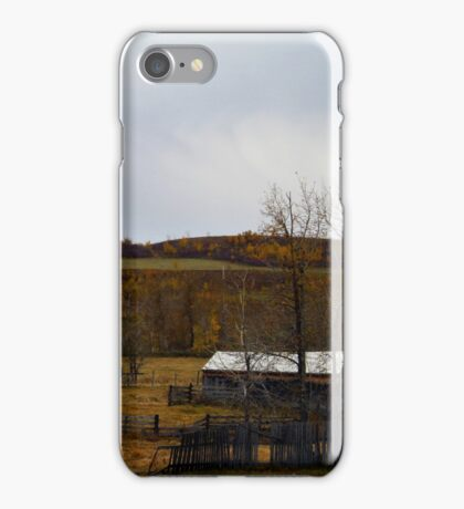 Autumn In The Valley iPhone Case/Skin