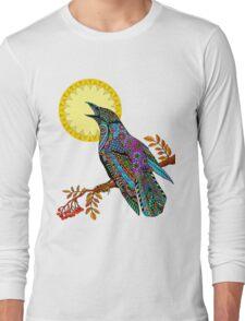 Electric Crow Long Sleeve T-Shirt