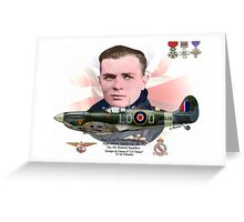 Sqn. Ldr. Pierre Clostermann Greeting Card