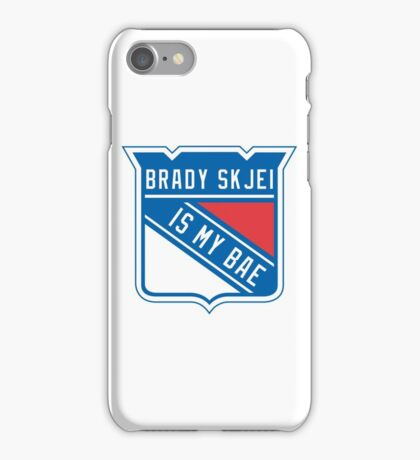 Brady Skjei - #76 New York Rangers iPhone Case/Skin