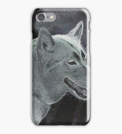 abstract dog iPhone Case/Skin