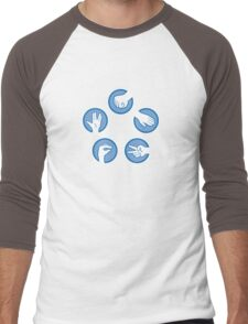 Rock Paper Scissors Lizard Spock Men's Baseball ¾ T-Shirt