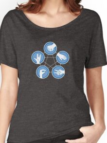 Rock Paper Scissors Lizard Spock Women's Relaxed Fit T-Shirt