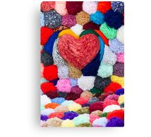 abstract heart Canvas Print