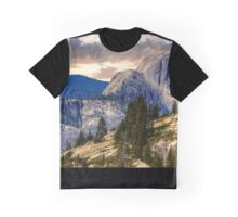 Half Dome from Olmsted Pt. Graphic T-Shirt