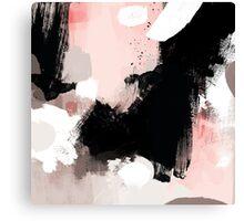 Modern Brush Strokes Canvas Print