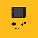 Gameboy yellow design by smurfted