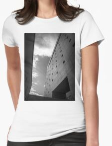 Wall Womens Fitted T-Shirt