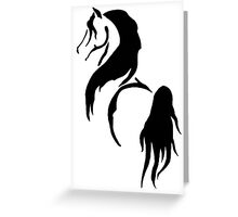 Noble Stallion Greeting Card