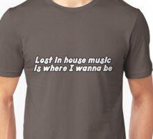 house music house musik electro music club music dj shirts music cool awesome urban big city clubbing modern Unisex T-Shirt