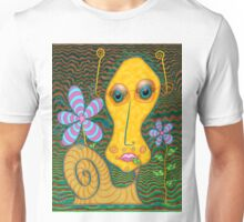 Portrait of the Artist as a Young Snail Unisex T-Shirt