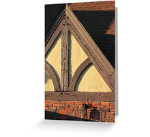 Architectural Detail 2 Greeting Card