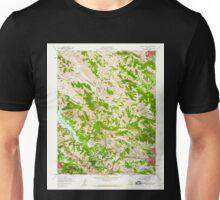 USGS TOPO Map California CA Briones Valley 288609 1959 24000 geo Unisex T-Shirt