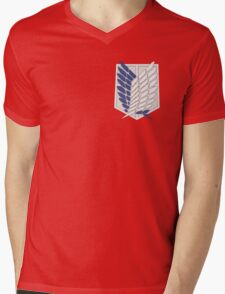 Recon corps logo Mens V-Neck T-Shirt