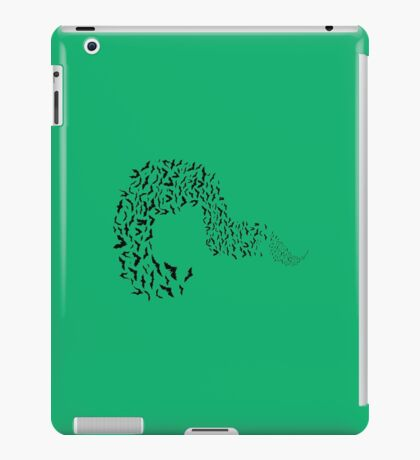 Riddler Bats question mark iPad Case/Skin