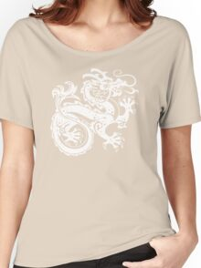 White Dragon Women's Relaxed Fit T-Shirt