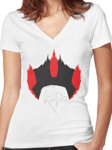 Rufio Women's Fitted V-Neck T-Shirt